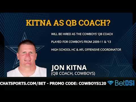 Dallas Cowboys: Jon Kitna Hired As QB Coach, Kellen Moore As OC And Jason Garrett To Call Plays?