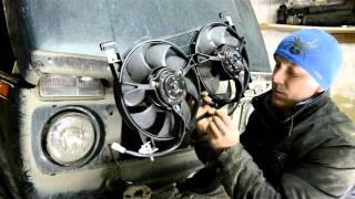 Нива 21214 Ремонт  Замена вентиляторов охлаждения радиатора своими руками