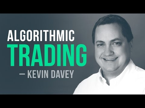 Algo Trading Strategies: From objectives to live trading w/ Kevin Davey