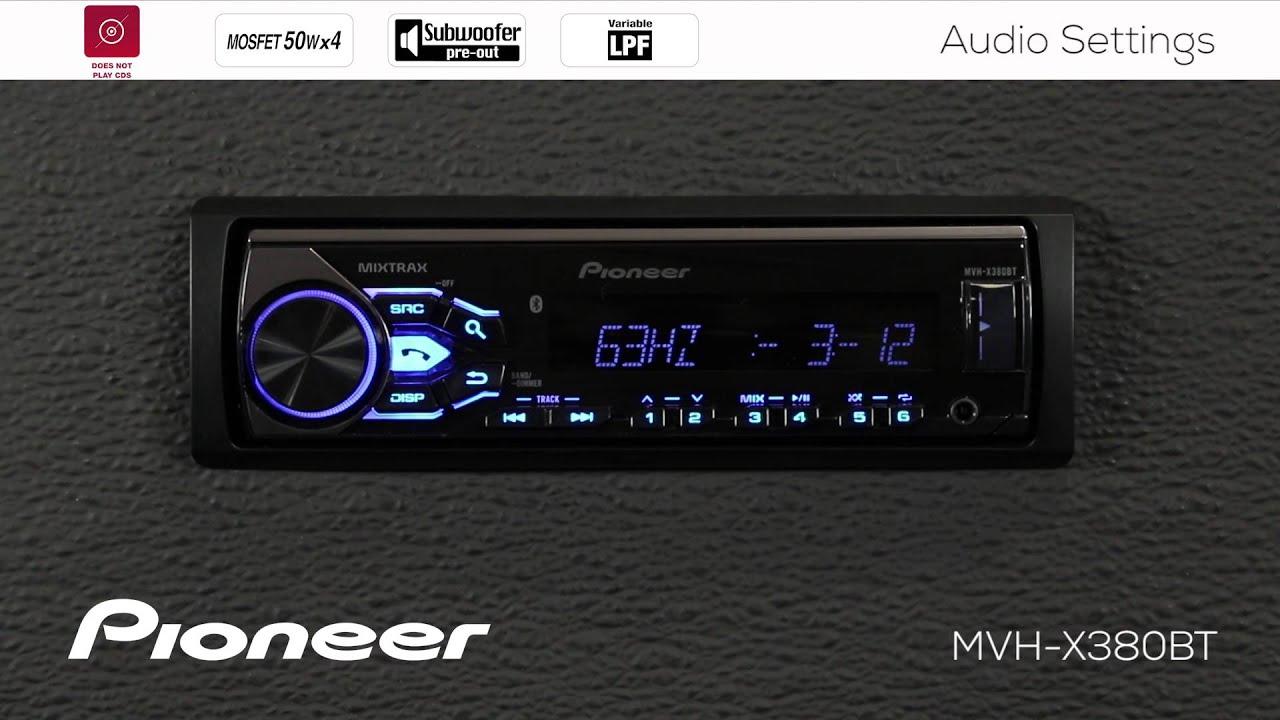Pioneer Car Radio Wiring Diagram Mvh X560 - Wiring Diagrams Schematics