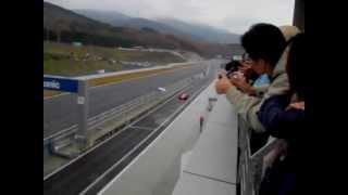 TOYOTA F1 ラルフ・シューマッハー TF106 富士スピードウェイ疾走 TMSF2006
