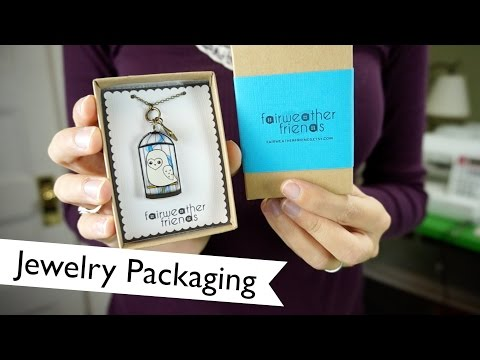 Branding: Jewelry Packaging | @laurenfairwx