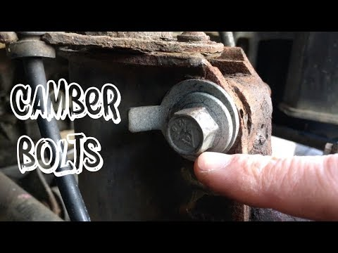Adding Camber Using Camber Bolts *NO ALIGNMENT TOOLS*