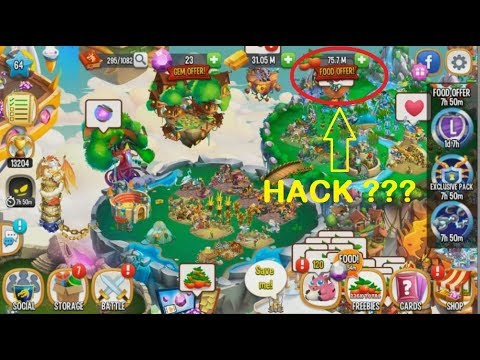 hack dragon city trên facebook mới nhất - Dragon City ss3 #48: Cách Hack 75 Triệu Trái Cây Và Xài Trong 1 Nốt Nhạc !!
