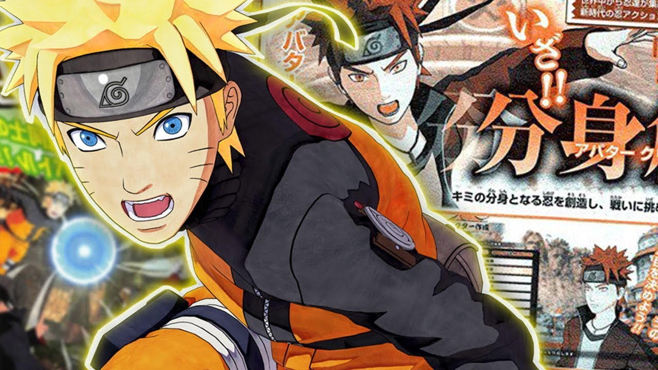 CREATE YOUR OWN NARUTO CHARACTER! Naruto To Boruto: SHINOBI STRIKER  GAMEPLAY!