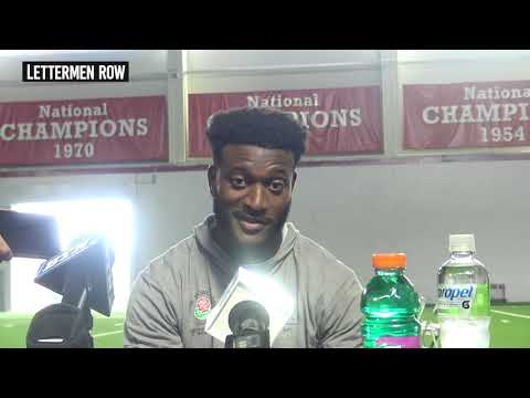 K J Hill: Ohio State wide receiver discusses what being a captain means