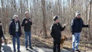 Trustees of Reservations Super Bowl Long Walk - February 5, 2012.wmv