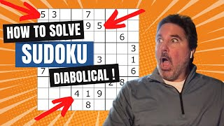 How To Solve Sudoku- PART 7 DEVIOUS PUZZLE LEVELS
