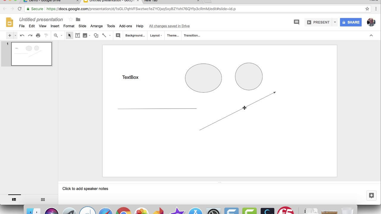 Google Slides - Insert Text, Shapes, Lines, and Word Art