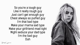Baixar Billie Eilish, Justin Bieber - bad guy (Lyrics / Lyric Video)