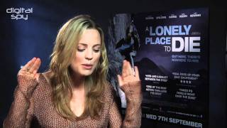 Melissa George: 'A Lonely Place to Die character is sexy'