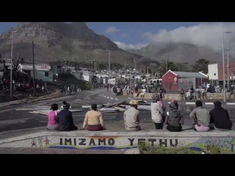SA: HOUSING PROTESTS