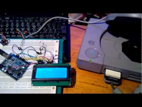 PlayStation CD-player with LCD, in progress