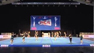 Cheer force ten, Senior 2, BCA Western Classics 2014