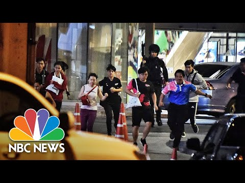Watch: Thai Police Lock Down Mall After Shooting Leaves Multiple Dead | NBC News
