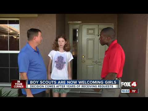 Girls Can Now Join Boy Scouts