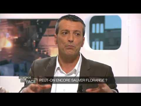 ArcelorMittal Florange Edouard Martin. Le monde en face. Fr5 16/04/2013