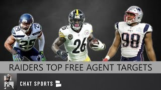 Oakland Raiders: Top 25 Free Agent Targets In 2019