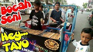 GROUP ONGKLIK INI PERNAH DISIDAK MANJI TAYO THE LITTLE BUS - Oklik Laras Pandowo - Hey Tayo
