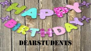 DearStudents   wishes Mensajes