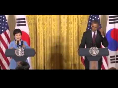 US President Barack Obama FULL Press Conference with South Korean President Park