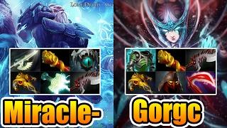 Gorgc vs Miracle- PERFECT IS SHIT Dota2 7.01