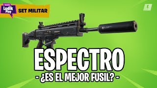 SPECTRE: THE BEST ASSAULT RIFLE? FORTNITE SAVE THE WORLD SET MILITAR GUIDE