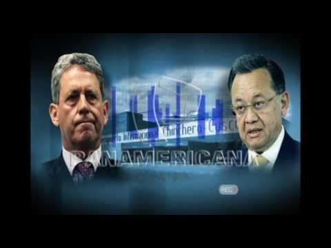 Audio completo entre el contralor, Edgar Alarcón y el ministro de Economía, Alfredo Thorne