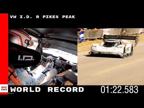 World Record Run Of VW I D  R Pikes Peak