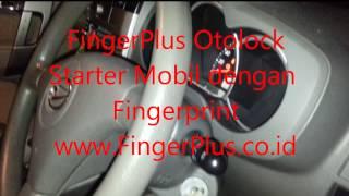 Starter Mobil dan Motor Menggunakan Fingerprint