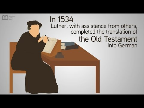 Martin Luther: Great Translators of the Bible