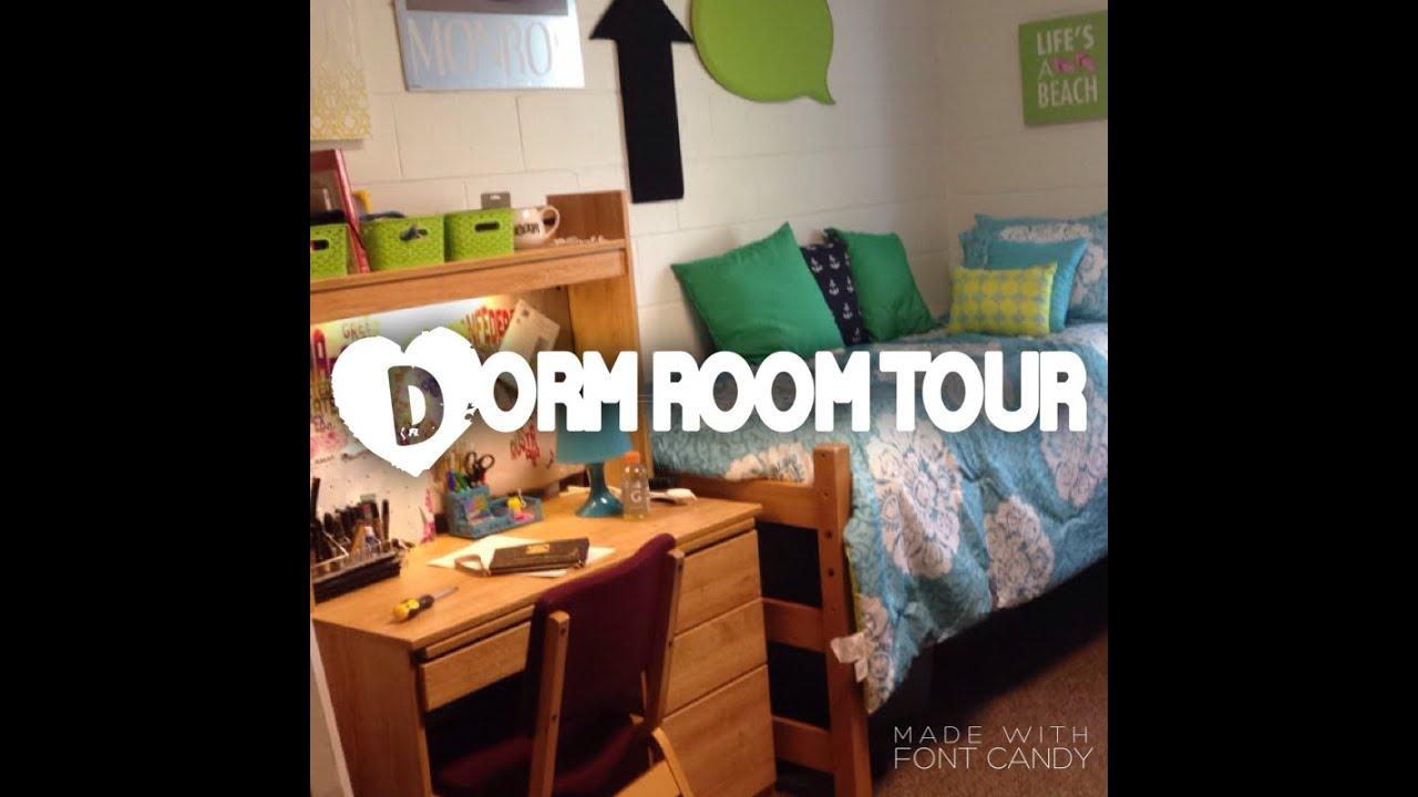 Cnu College Dorm Tour Freshman Year ♡ Youtube