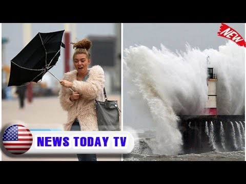 Uk weather: storm caroline to bludgeon britain with 80mph winds severely disrupting travel | News T