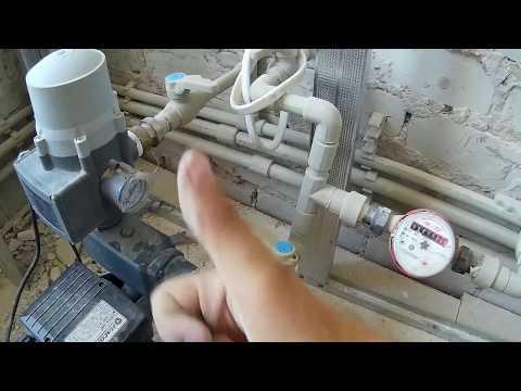 Маленькие хитрости  монтажа насосной станции,несколько советов по установке водяного насоса