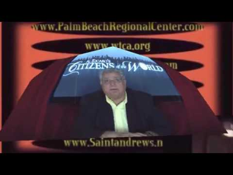 Al Zucaro Talks Immigration Confusion in Boca Raton on Citizens of the World