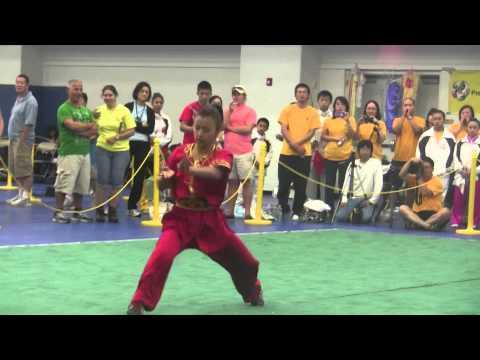 Jessica Shyy - 2012 US Junior Wushu Team Trials Group A Female Nanquan