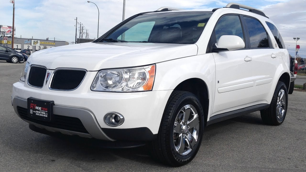 2008 Pontiac Torrent Awd Quot Podium Edition Quot Ride Time