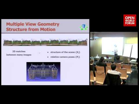 OpenMVG/MAYAMVG - Fabien Castan (R&D Engineer, Mikros Image) / Pierre Moulon