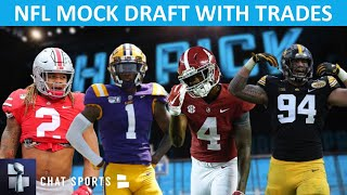 NFL Mock Draft With Trades - Round 1 Projections For 2020 Ft. Tua, Isaiah Simmons & Jeffrey Okudah