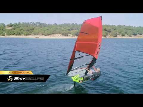 2020 Loftsails Skyscape - Monty Spindler presents a dedicated foil sail