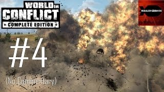 World in Conflict Complete Edition - Campaign Playthrough Part 4 (No commentary, Mission 4)