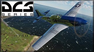 DCS 2.5 - Caucasus - P-51D - Online Play - Where'd They All Come From?