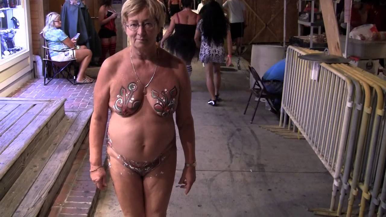 Key West Festival Called Fantasy Fest Swingers Naked es