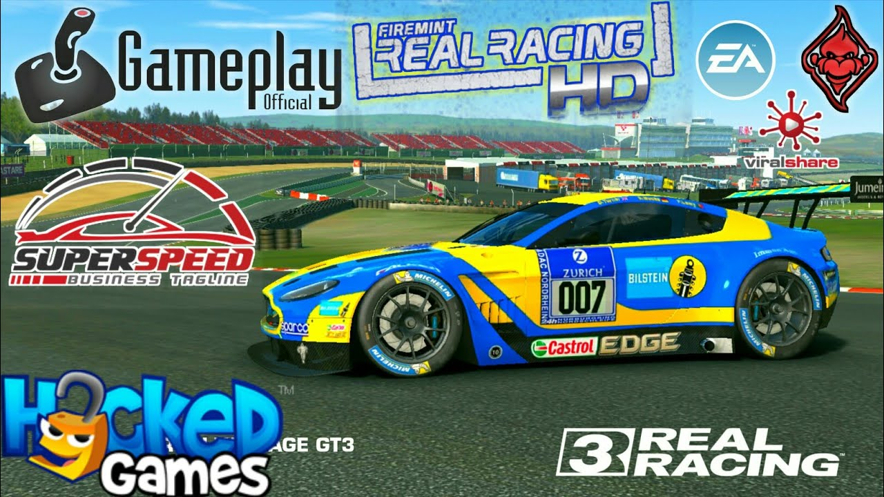 Real Racing 3 Aston Martin Vantage Gt3 Gameplay Android Youtube