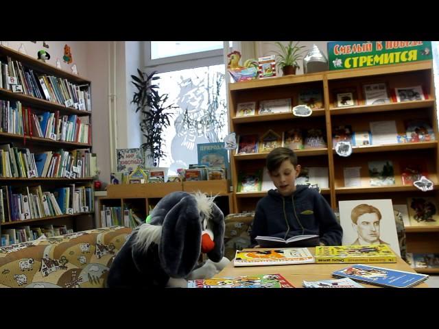 Изображение предпросмотра прочтения – АртемАкчурин читает произведение «История Власа, лентяя илоботряса» В.В.Маяковского