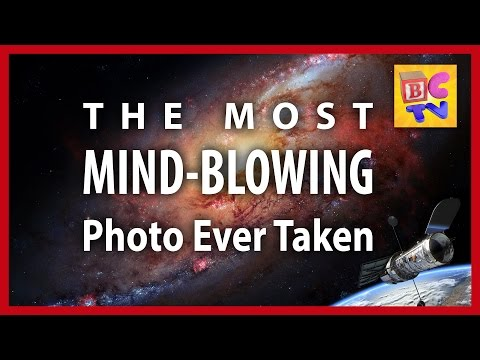 How Big is the Universe?   NASA's Hubble Deep Field Image