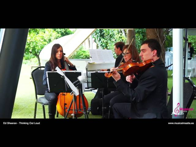 Ed Sheeran - Thinking Out Loud cover String trio & piano