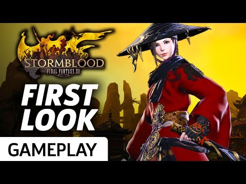 First Look At Final Fantasy XIV: Stormblood's New Jobs Gameplay