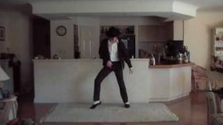 Adam dancing to Smooth Criminal - my best impersonation