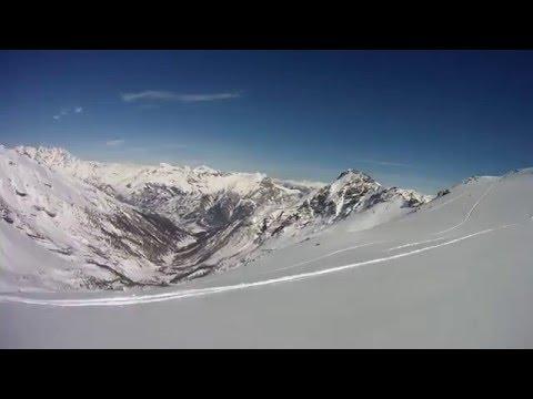 Ski Freerando à la Crête de Prarol, Col du bal, Puy Saint Vincent